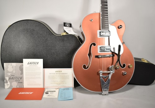 2020 Gretsch G6136T Limited Edition Falcon Copper Finish Electric Guitar w/OHSC