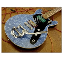 2020 Harvester Guitars Double Cut Recycler