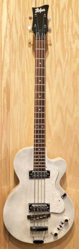 2020 Hofner Club Bass Ignition White Pearl
