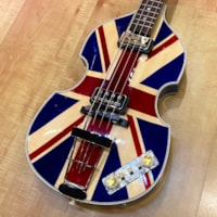 2020 Hofner Fab Gear Union Jack 500/1 Limited Edition Model