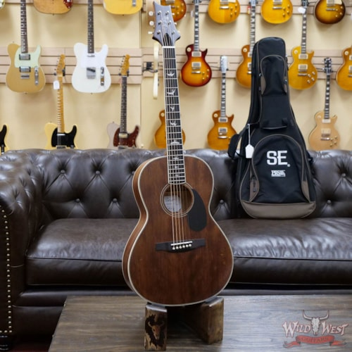 2020 Paul Reed Smith PRS SE P20 Parlor Sized Acoustic Guitar Vintage Mahogany