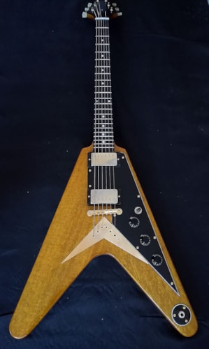 2020 Sonicguitars Flying V 1959 aged replica Nat Yellow