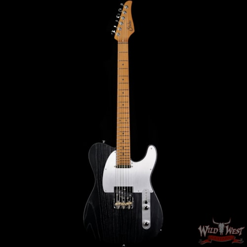 2020 Suhr Andy Wood Signature Modern T SS T24 Swamp Ash War Black