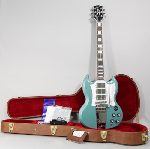 2021 Gibson Kirk Douglas Signature SG Inverness Green Electric Guitar w/OHSC