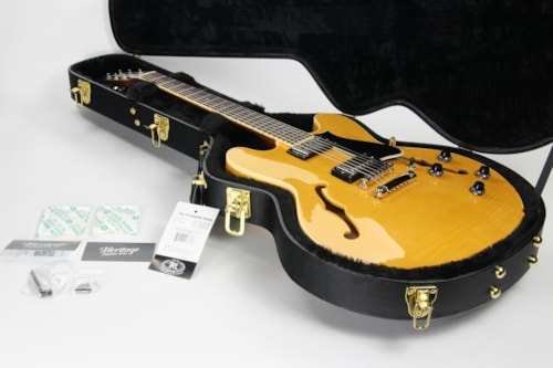 2021 Heritage H-535 Antique Natural - 335 Style Semi-Hollowbody