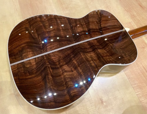 2021 Martin Custom Shop 000 Style Guitar Wild Grain Rosewood Set #6 Natural