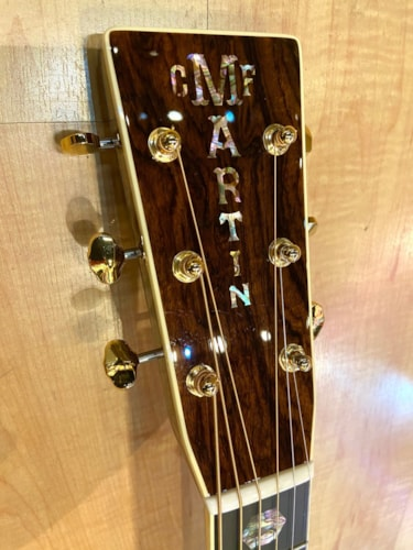 2021 Martin Custom Shop  D Style 14 Fret Guitar Wild Grain Rosewood Set #7 Natural