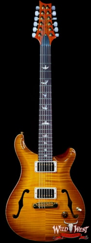 2021 Paul Reed Smith Core Flame Maple Top Hollowbody I HB1 12-String McCarty Sunburst