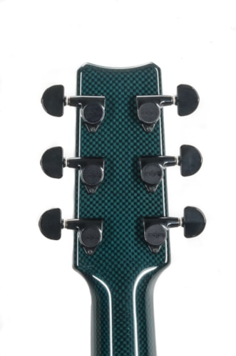 2021 RainSong 25 Year Special Edition Blue Tint Black Ice Guitar