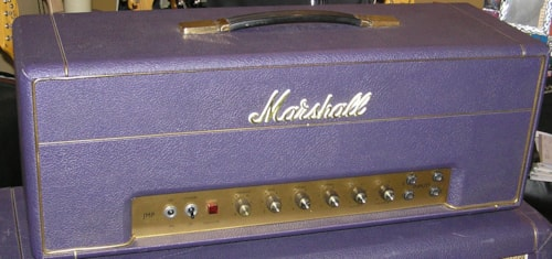 1968 Marshall JMP-50 Factory Purple Museum quality, untouched 68 Plexi with matching cab