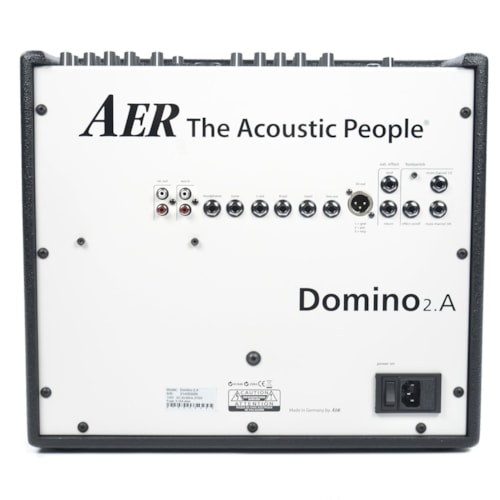 AER Domino-2A 100W 2x8 Acoustic Guitar Combo Amp Black