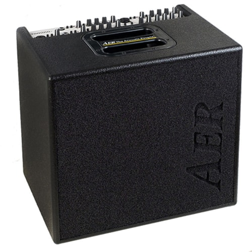 AER 100W Acoustic Combo Amp/4 Chan w/ 2x8 Speaker/ Black DOMINO-2A