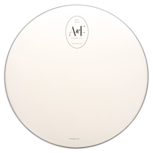 """A&F Drum Co. 26"""" Coated Logo Bass Drum Drumhead"""