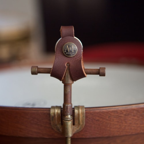 A&F Drum Co. Raw Drum Key w/Leather Holster