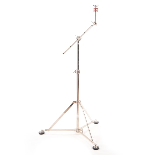 A&F Drum Co. Single Braced Boom Cymbal Stand Nickel