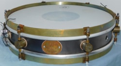 A&F Raw Steel Snare Drum
