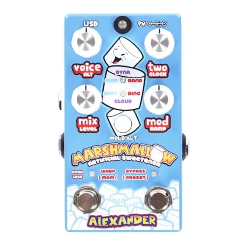 Alexander Pedals Marshmallow Artificial Sweetener Pitch Shifter
