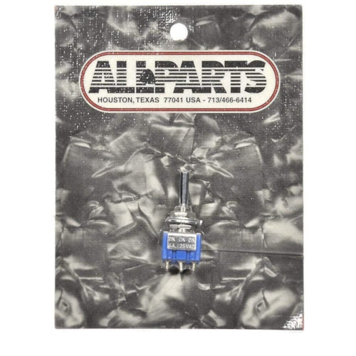 Allparts On-On-On Mini DPDT Switch - Chrome