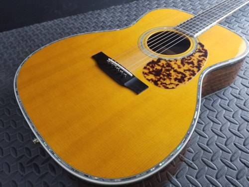Amazing Blueridge Historic BR-183 000 2014 Natural K&K Pickup Beautiful and Great Sounds Too!