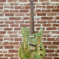 Aniktos Guitars T-Style Green Flame