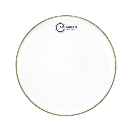 """Aquarian 14"""" Classic Clear Snare Side Drumhead"""