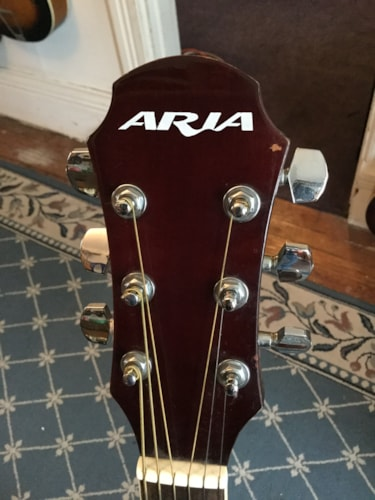 Aria AW-20N Acoustic Natural, Very Good