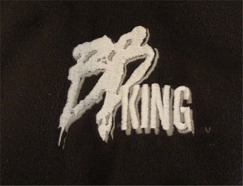 B.B. Kings Tour Jacket worn by Charlie Dennis (Charlie Tuna), rhythm guitar with BB King