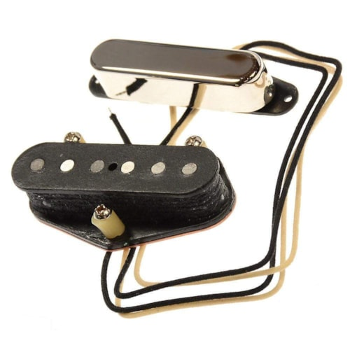 Bare Knuckle Country Boy Tele Single Coil Pickup Set Nickel