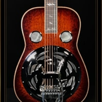 Beard Beard Jerry Douglas Signature Squareneck Resonator with Hipshot Doubleshot Bridge and Fishman Electronics