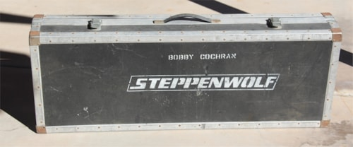 Bobby Cochran's Steppenwolf Guitar Road Case - Own a piece of music history!