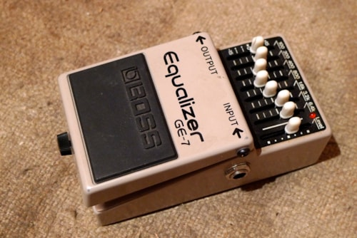 Boss GE-7 Graphic EQ Equalizer Excellent, $75.00
