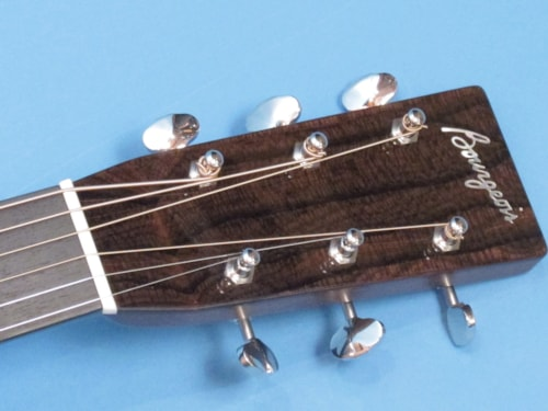 Bourgeois OM Country Boy Short Scale Natural Mahogany, Brand New, Hard