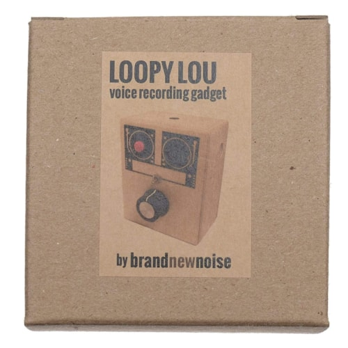 BrandNewNoise Loopy Lou Voice Recorder with Loop Switch