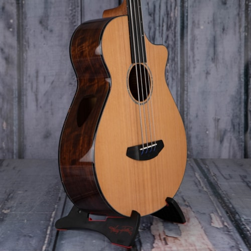 Breedlove Solo Jumbo Fretless Bass CE Acoustic/Electric, Natural