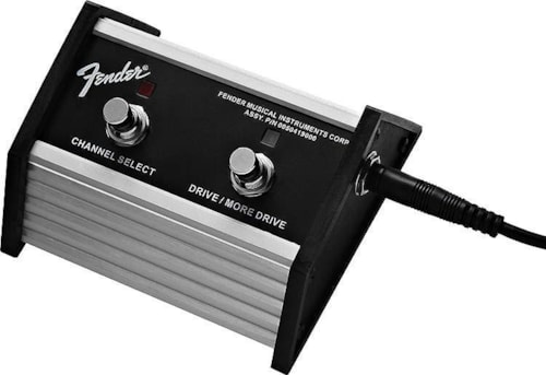 Fender 2-Button Footswitch Channel & Drive/More Drive