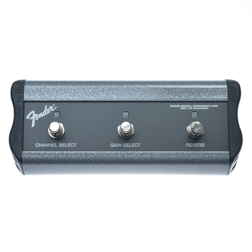 Fender 3-Button Channel/Gain/Reverb Footswitch