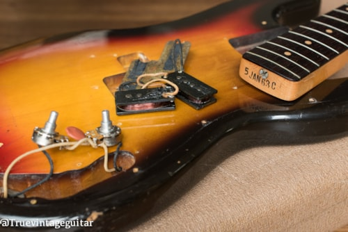 Clean 1963 Fender Precision Bass Sunburst 48hr Approval