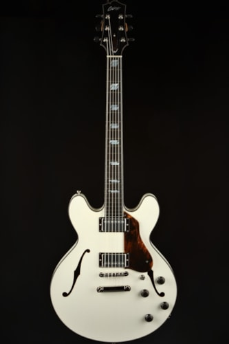 Collings I-35 Deluxe Custom Inlay - Vintage White