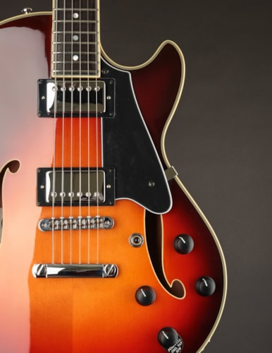 Comins GCS-1ES Semi-Hollow Autumn Burst