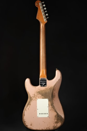 Fender Custom Shop Limited '60/'63 Stratocaster Super Relic - Dirty Shell Pink (1960 reissue)