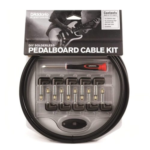 D'Addario Cable Station Pedalboard Cable Kit
