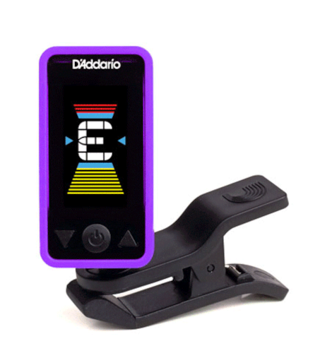D'Addario Eclipse Tuner Various colors, Brand New