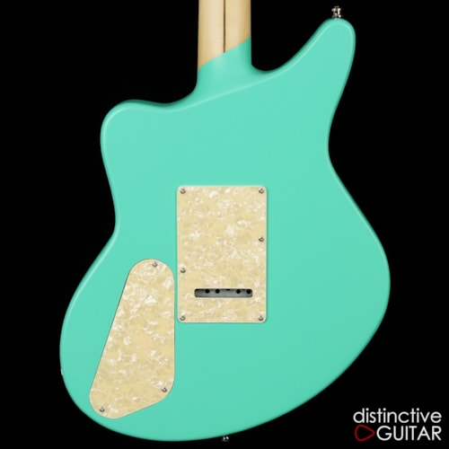 D'Angelico Deluxe Bedford SH Matte Surf Green