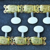 Dell'Arte Miller Tuners for Gypsy style guitar Model 203