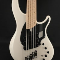 Dingwall NG3 Adam Nolly Getgood Signature 5-String in Ducati White with Maple Fretboard