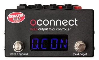 Disaster Area Designs Disaster Area Designs qCONNECT Quarter-Inch MIDI Interface and Controller