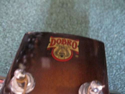 Dobro Resonator Sunburst, Mint, Hard