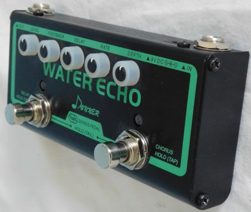 Donner Water Echo Delay/Chorus Pedal