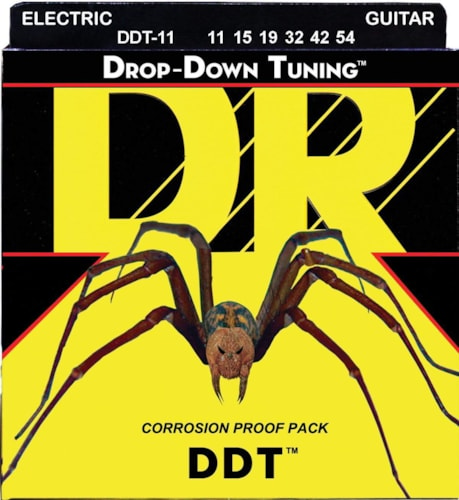 DR Strings DDT-11 Guitar Extra Heavy 11-54