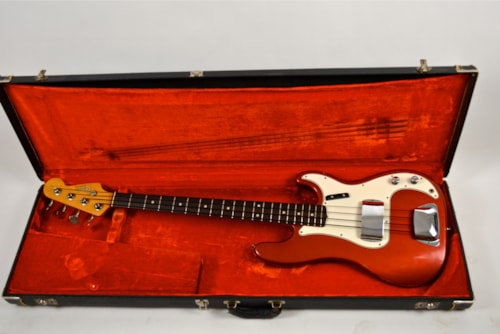 Jan.67 Fender Precision Bass (C,A. Red)